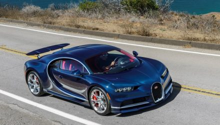 Bugatti Chiron orders reach 220 in just 9 months