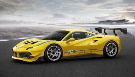 Ferrari 488 Challenge race car debuts with turbo V8