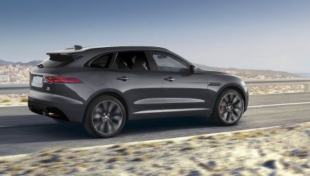 Jaguar F-PACE 'Designer Edition' created by Ian Callum for charity
