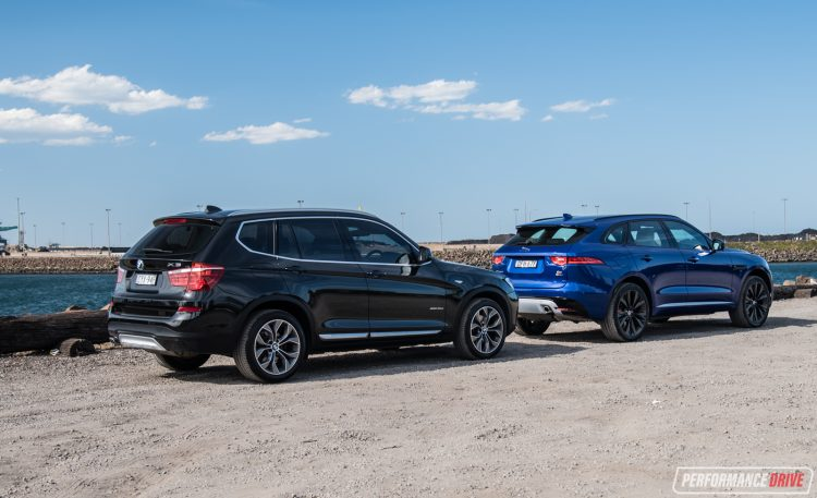 jaguar-f-pace-vs-bmw-x3-parked