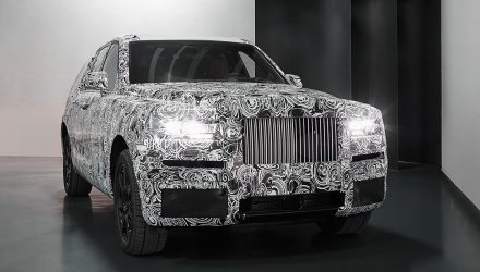 Rolls-Royce Cullinan SUV previewed with near-production body