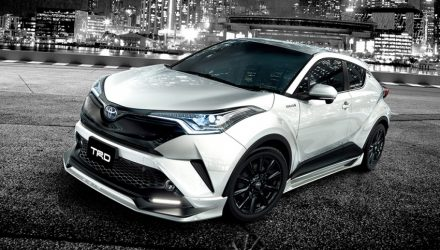 Toyota C-HR TRD packages give compact SUV sportier edge