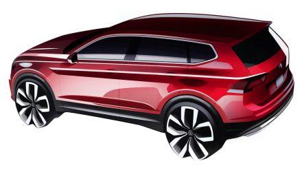 Volkswagen Tiguan Allspace 7-seater previewed