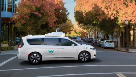Google reveals fully autonomous Waymo Chrysler Pacifica