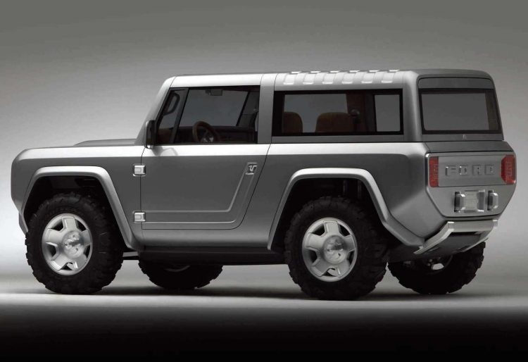 Concept Car of the Week: Ford Bronco (2004) - Car Design News