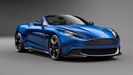 2017 Aston Martin Vanquish S Volante announced