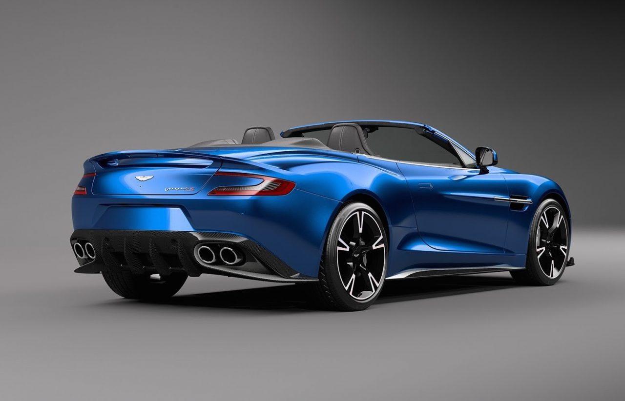 2017 Aston Martin Vanquish S Volante announced ...