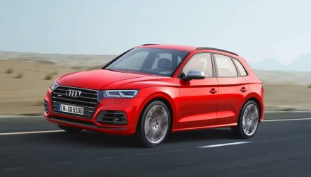 2017 Audi SQ5 revealed; swaps to petrol, slower