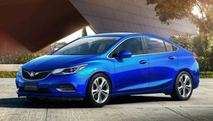 2017 Holden Astra sedan confirmed, arrives May