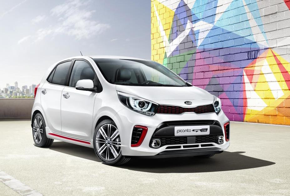2017 kia picanto revealed sporty gt line confirmed performancedrive