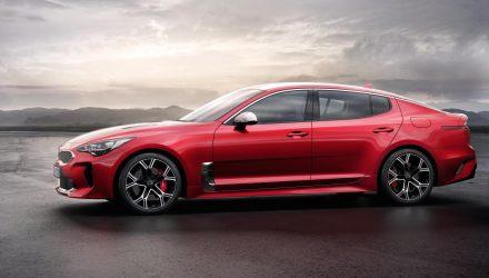 Kia Stinger revealed as new RWD sports sedan