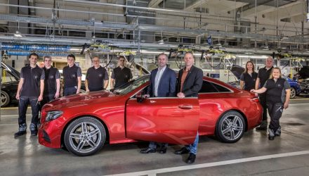 2017 Mercedes-Benz E-Class coupe production commences