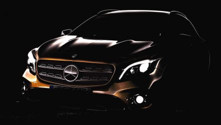2017 Mercedes-Benz GLA facelift previewed before Detroit debut
