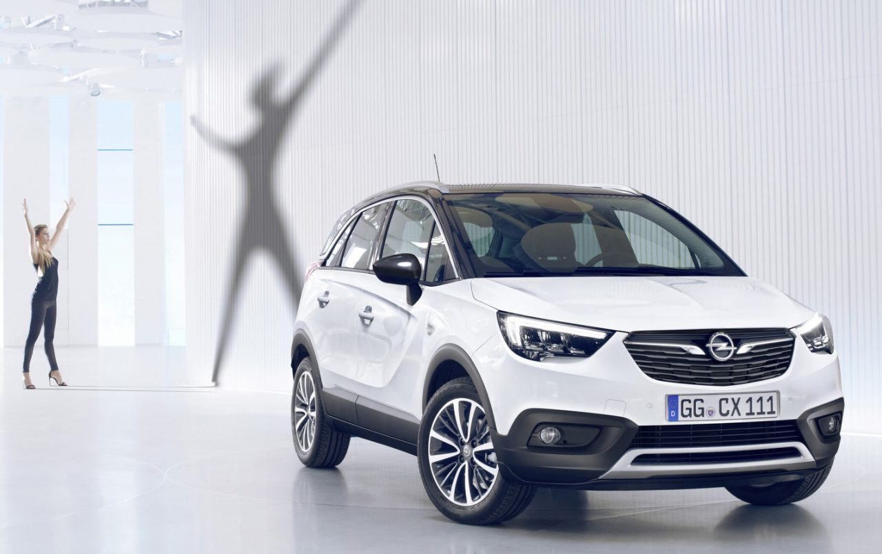 2017 opel crossland x revealed as new compact crossover performancedrive. Black Bedroom Furniture Sets. Home Design Ideas