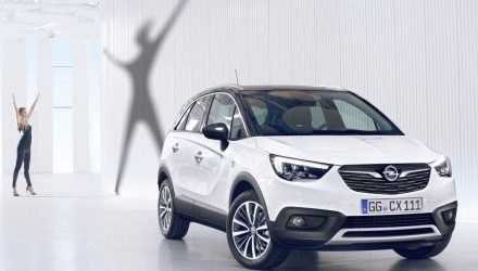 2017 Opel Crossland X revealed as new compact crossover
