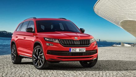 Sporty Skoda Kodiaq Sportline shows SUV's sportier side