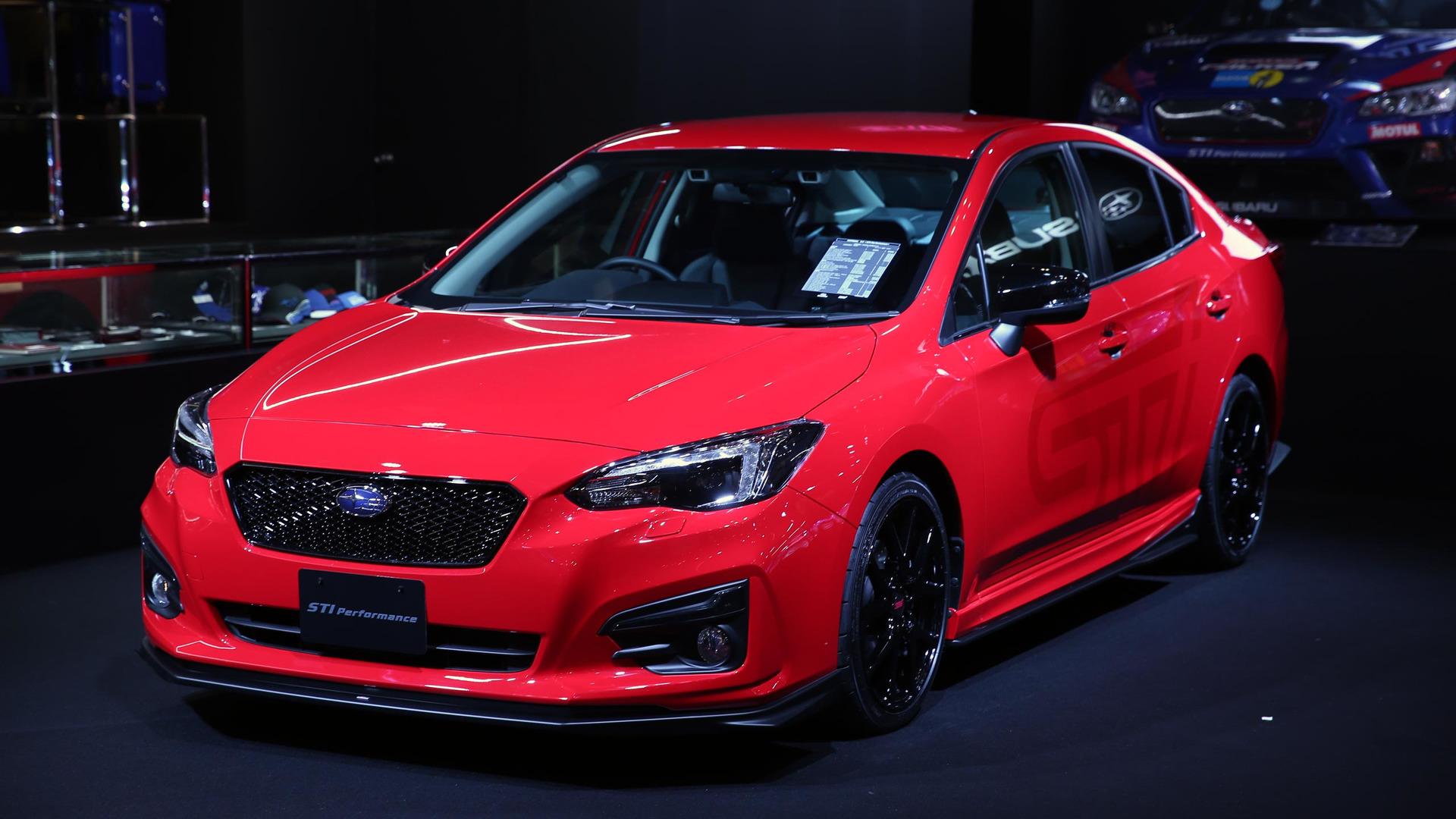 Subaru prepares STI packages for 2017 Tokyo Auto Salon ...