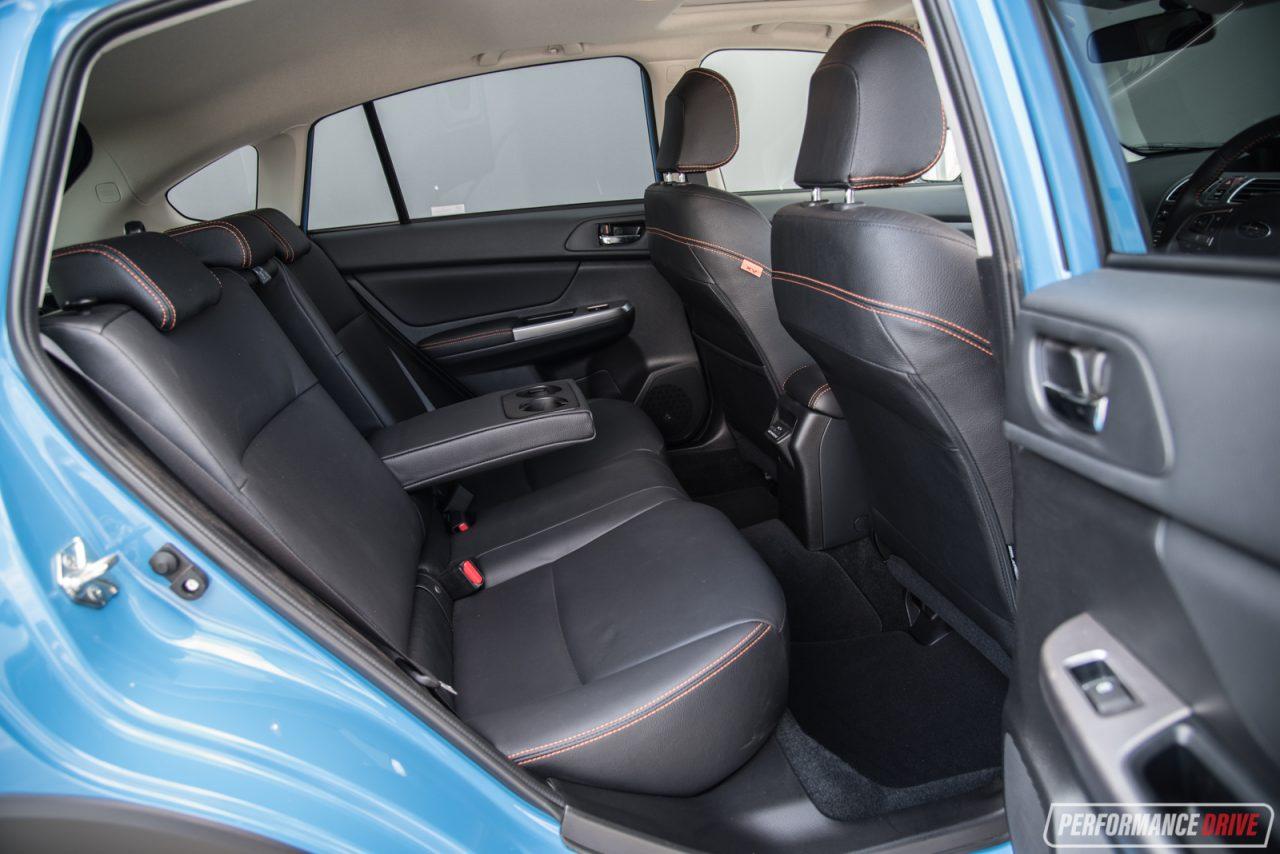 2018 subaru xv 2 0i s. Perfect 2018 2017 Subaru XV 20iS Rear Seats Inside 2018 Subaru Xv 2 0i S