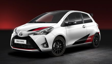 All-new Toyota Yaris hot hatch road car revealed
