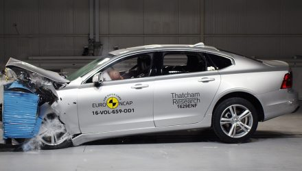 Volvo S90/V90 scores 5-star NCAP safety rating