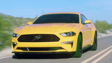 2018 Ford Mustang leaks out early via promo footage (video)
