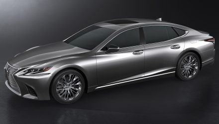 2018 Lexus LS revealed, debuts 3.5TT V6 & 10spd auto