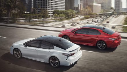 2018 Toyota Camry facelift unveiled with new V6 option
