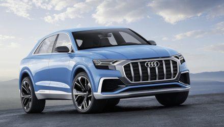 Audi Q8 hybrid SUV concept unveiled at Detroit show