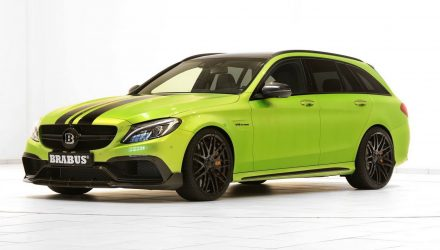 BRABUS presents new tune for Mercedes-AMG C 63 S wagon
