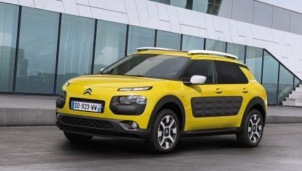 Citroen announces conventional 6pd auto for Cactus