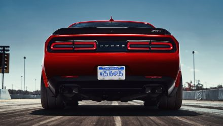 Dodge Challenger SRT Demon gets bespoke Nitto tyres (video)