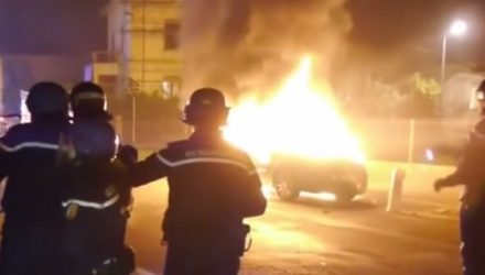 Nearly 1000 cars set on fire in France by arson NYE tradition