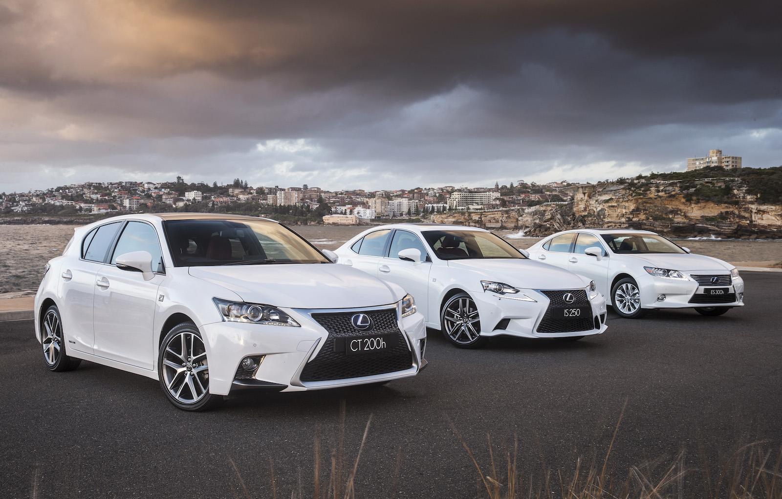 Car colour white - Lexus Lineup White