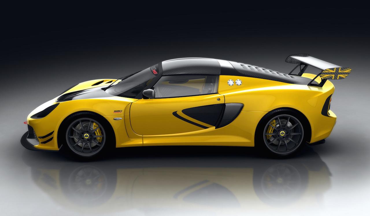 lotus exige race 380 revealed ready for motorsport jan 14