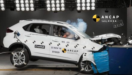 MG GS SUV gets 4-star ANCAP safety rating