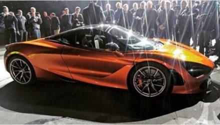 McLaren 'P14' spotted, new design for 650S successor