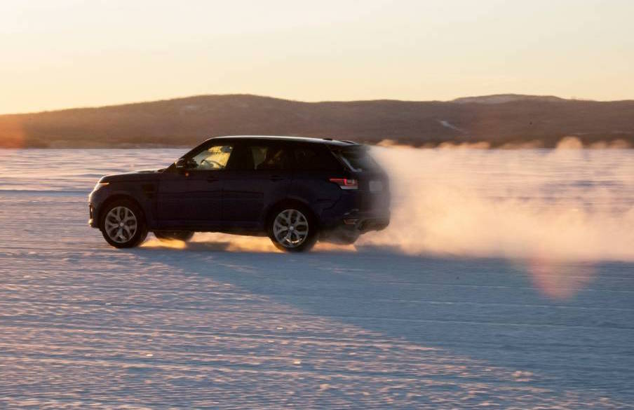 Range Rover Sport SVR Slays All-Terrain Acceleration Tests