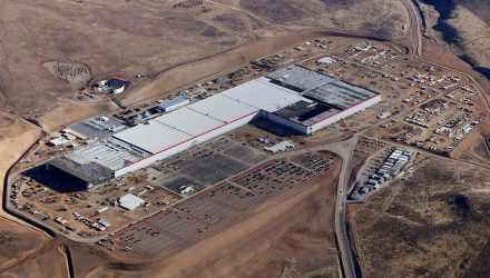 Tesla begins battery cell production at Gigafactory