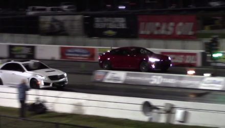 Tesla Model S P100D sets new 1/4 mile record (video)