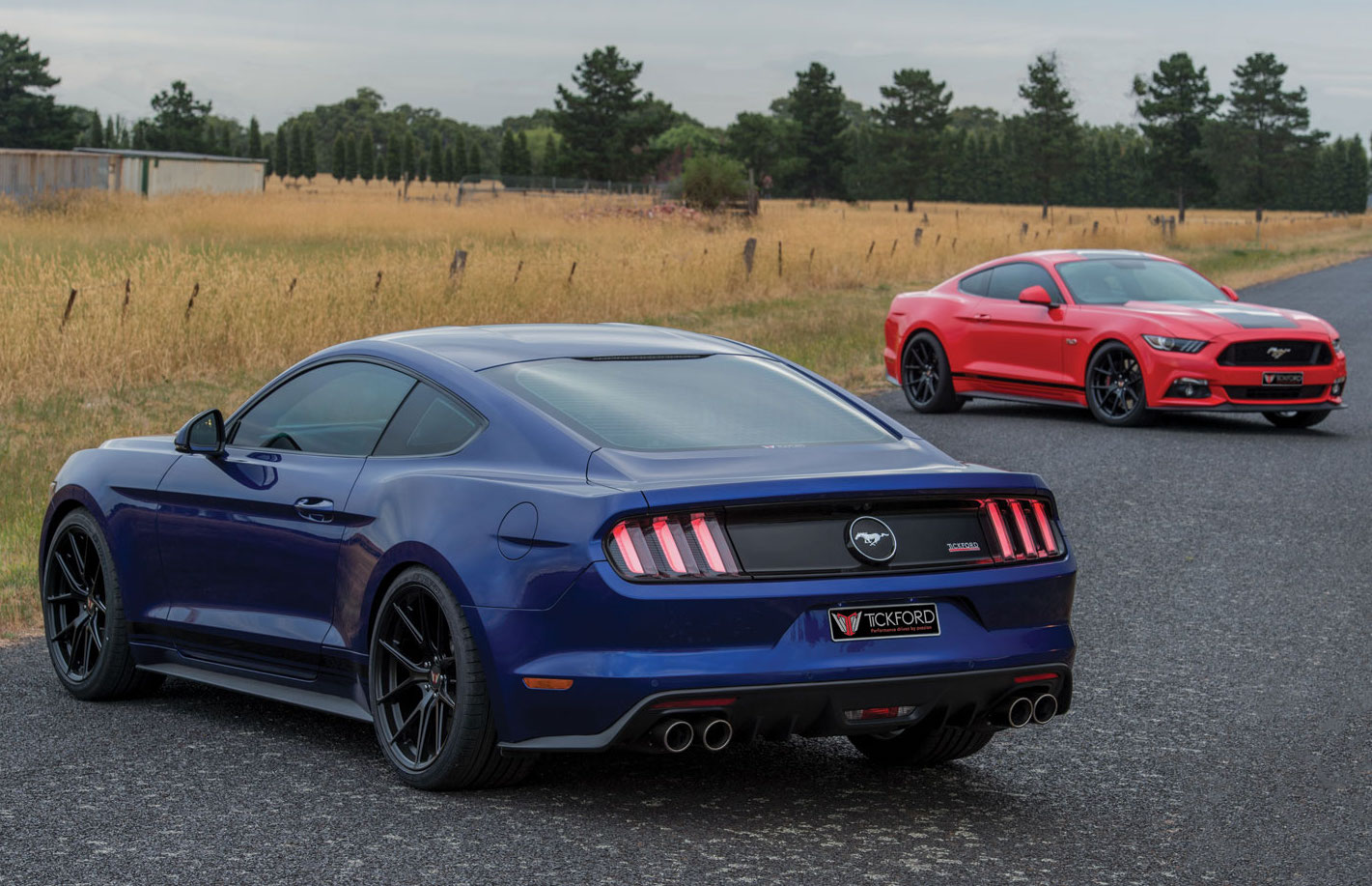 Starting With The Entry Level Ecoboost Mustang Power From The   Litre Turbocharged Four Cylinder Unit Has Been Increased From The Stock Kw At Rpm