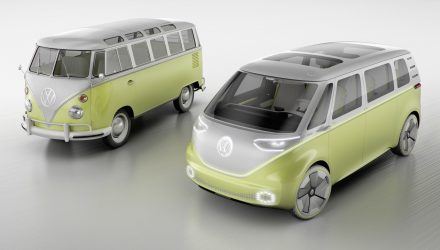 Volkswagen I.D. Buzz concept previews future Kombi