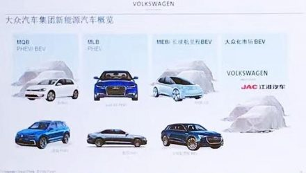 Volkswagen's 8 'New Energy Vehicles' for China leaked
