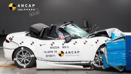 Mazda MX-5 RF continues 5-star ANCAP safety rating