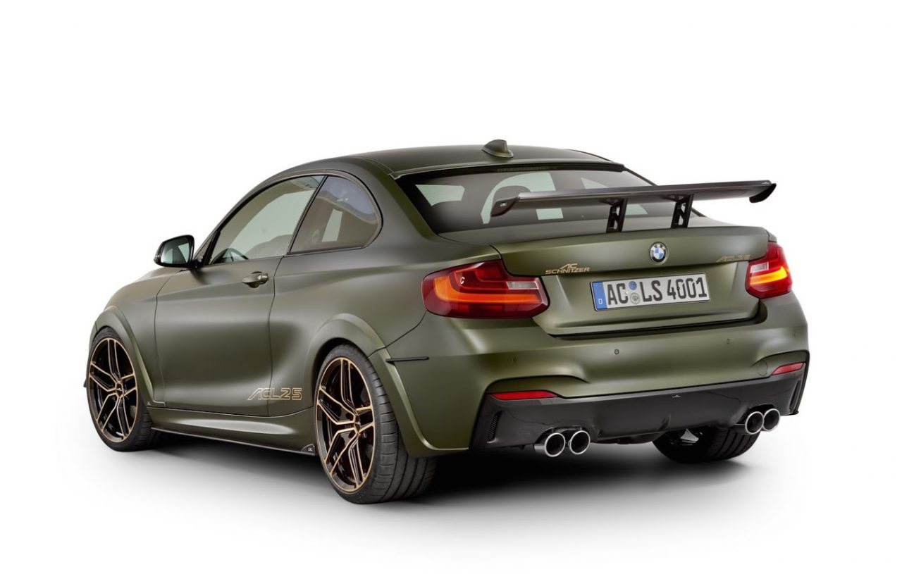 ac schnitzer updates acl2s for bmw m240i performancedrive. Black Bedroom Furniture Sets. Home Design Ideas