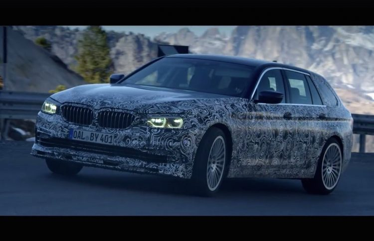 2017 Alpina B5 Bi-Turbo Touring previewed, sliding about ...