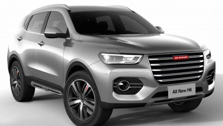 2017 Haval H6 revealed with new platform & interior