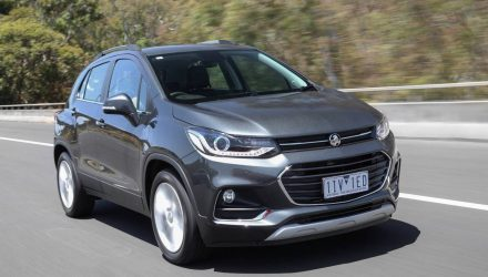 2017 Holden Trax now on sale in Australia from $23,990