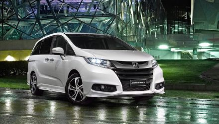 MY2017 Honda Jazz & Odyssey updates announced
