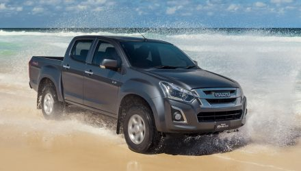 2017 Isuzu D-Max arrives; gets 6spd, touchscreen, more torque