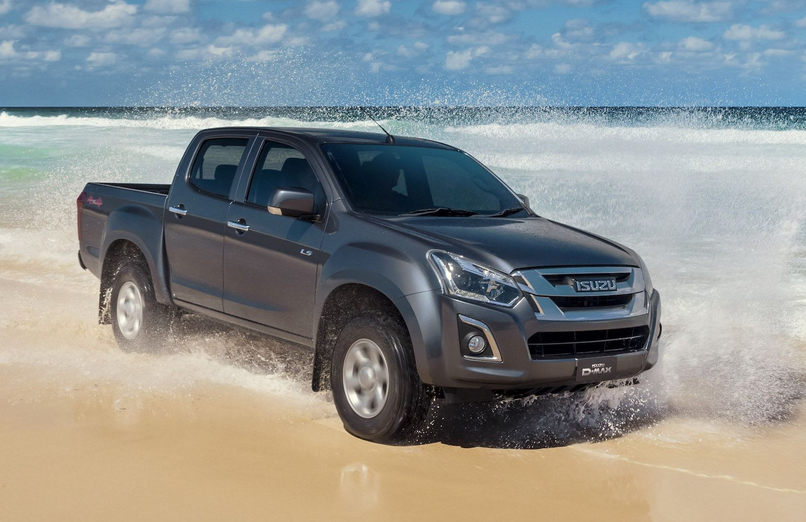 2017 isuzu d max arrives gets 6spd touchscreen more torque performancedrive. Black Bedroom Furniture Sets. Home Design Ideas